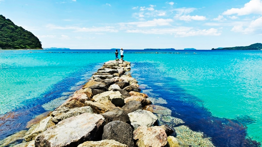 ●萩の絶景癒しスポット・菊ヶ浜