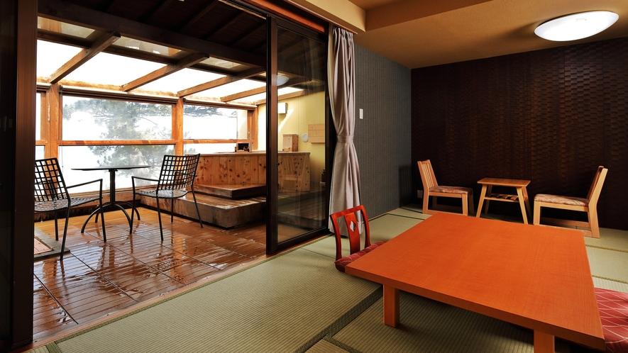 【ひなぎく】●最上階・露天風呂付客室●日本海一望♪