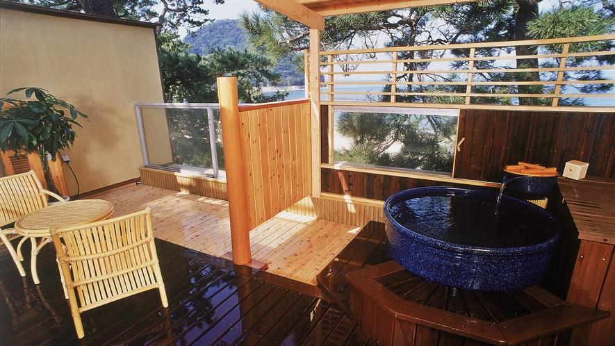 【ふくじゅそう】■オーシャンビュー*萩指月温泉■最上階☆露天風呂付客室
