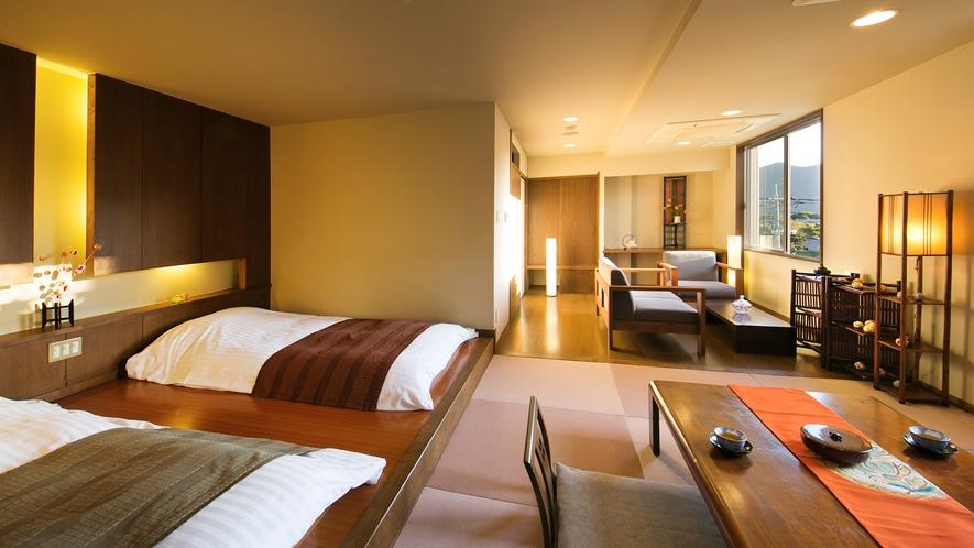 ●モダンデザインが人気。ゆったりとしたお部屋で大人の上質空間♪【デザイナーズ客室【Btype】