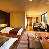 ●【デザイナーズ客室【Btype】/フロアツインベッドルーム】●大人の上質空間♪