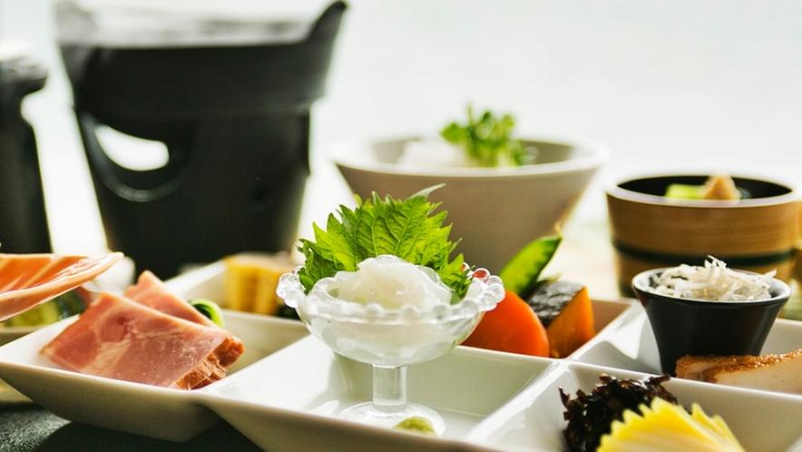 ● 普段朝食を召し上がらない方でも、ごはんに箸が進むと好評(イメージ)