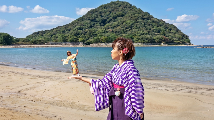 ●徒歩1分の菊ヶ浜/え!?手の平で踊らされてる???
