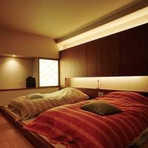 ●モダンデザインと和のテイストが人気のゆったりとしたお部屋