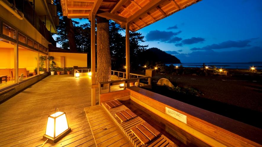 ●365日移り変わる海景色。今日はどんな菊ヶ浜の情景で、わたしたちを迎えてくれるのでしょうか・・・。