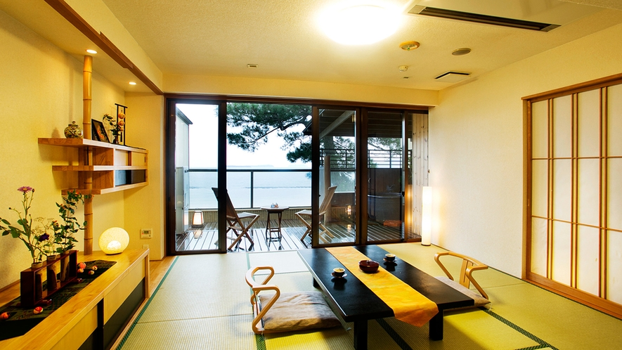 【ふくじゅそう】●最上階☆露天風呂付客室●日本海一望♪