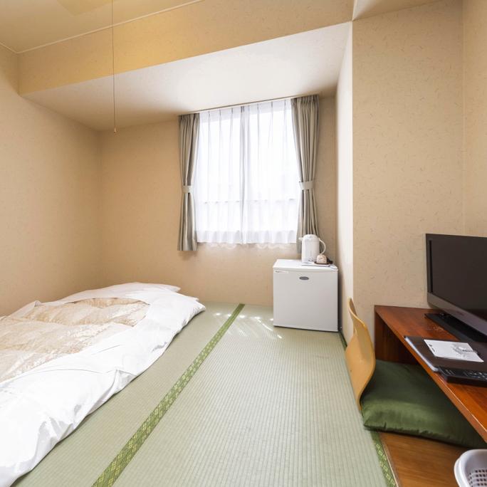 お部屋/エコノミー和室|リーズナブルな和室のお部屋です。ベッドが苦手なお客様におすすめ!