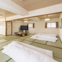 お部屋/和室大部屋|大人数でご利用いただける広い和室です!