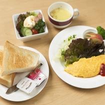 朝食※イメージ/厚切りトーストに手作りオムレツが大人気の洋朝食♪