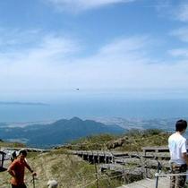 ■絶景!大山山頂■