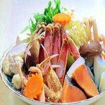 ■冬季かに鍋(一例)■