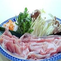 ■豚しゃぶしゃぶ(一例)■