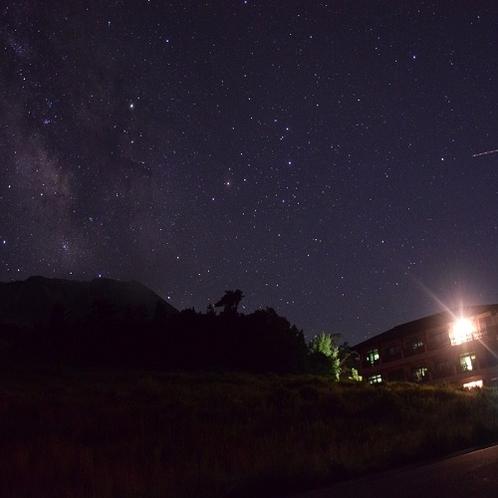 ■当館裏からの星空■