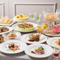 1階 ビュッフェ&カフェレストラン 「ナイト&デイ」料理イメージ
