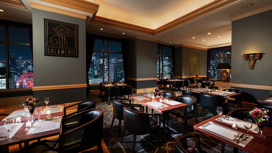 25階 レストラン&スカイバンケット「ソラメンテ」