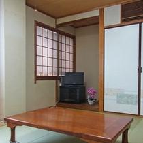 【和室8畳一例】こちらのお部屋はバス・トイレがセパレート。ユニットバスが苦手な方にお勧め。