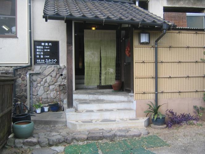 玄関(緑)