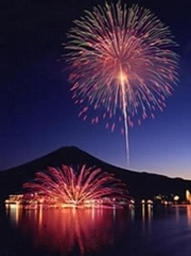 河口湖花火大会『湖上祭』