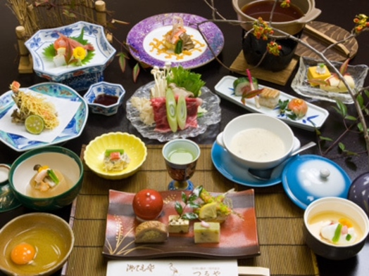 GoToトラベルキャンペーン割引対象【部屋食】★満足!グルメ宿 自慢の本格日本料理 プラン