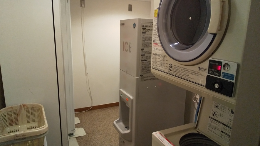 製氷機、洗濯機、乾燥機