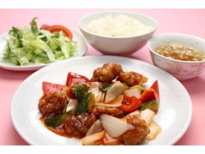 【中国料理東方楼】酢豚