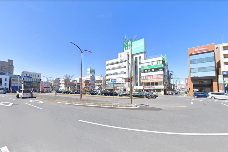 五井駅から徒歩でのアクセス①