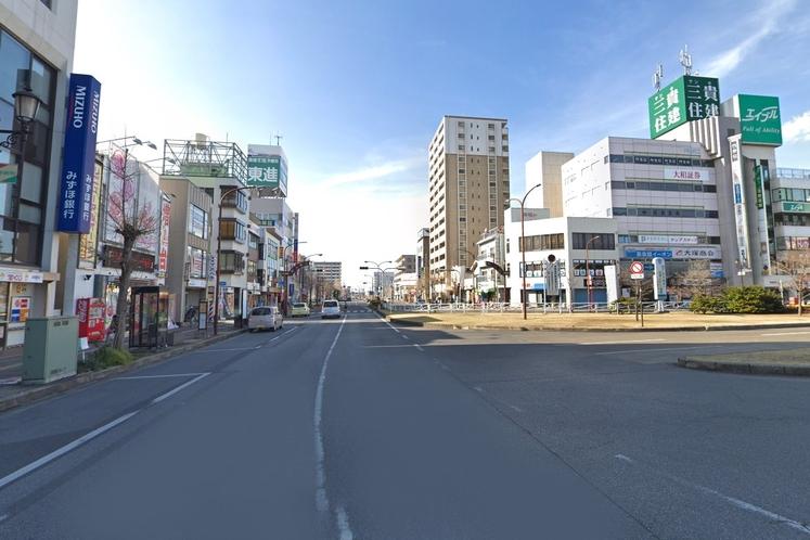 五井駅から徒歩でのアクセス②