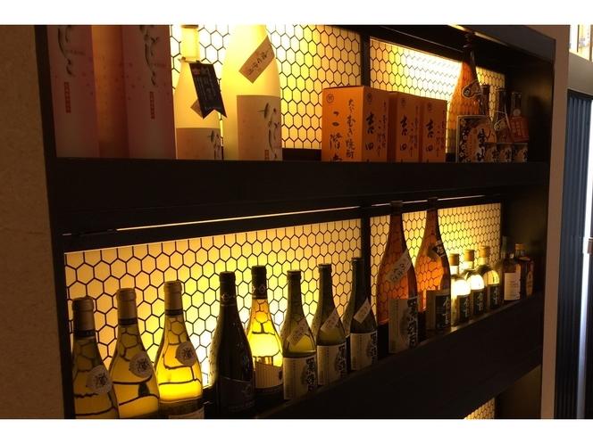 【五井小町串心】店内はお酒も充実。