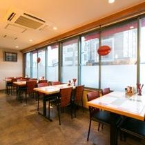食事会場・1Fレストラン『羅羅(ララ)』