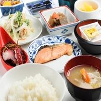 朝食(和食の一例)