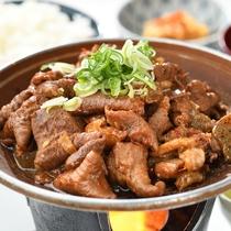 矢嶋食堂・夕食の一例