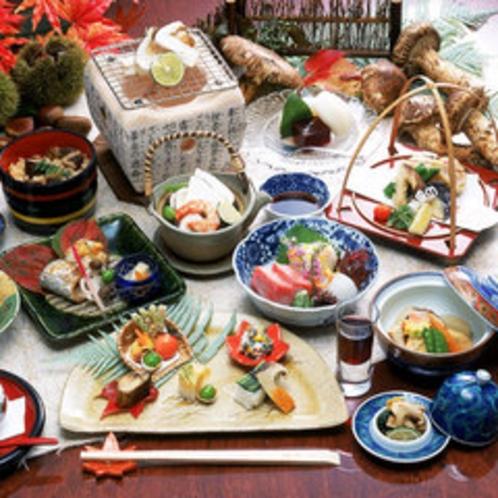 松茸会席(秋の特別料理)