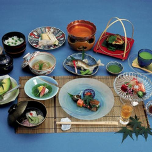 鱧しゃぶ会席(夏の特別料理)