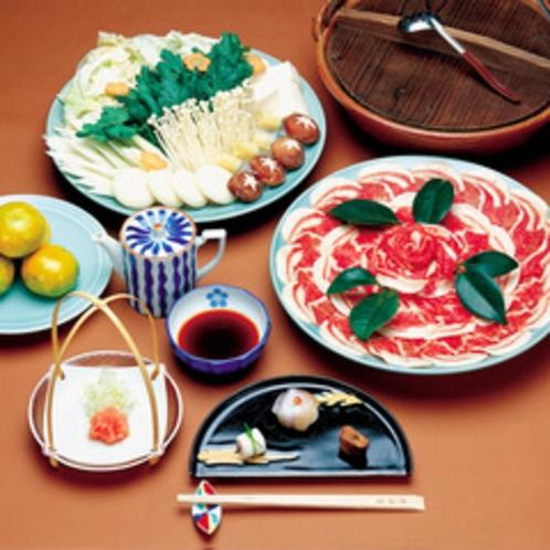 ぼたん鍋(冬季限定)