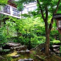 夏の庭園「世隔」