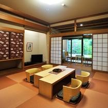 露天風呂付和室 13-17帖 <薫林棟>