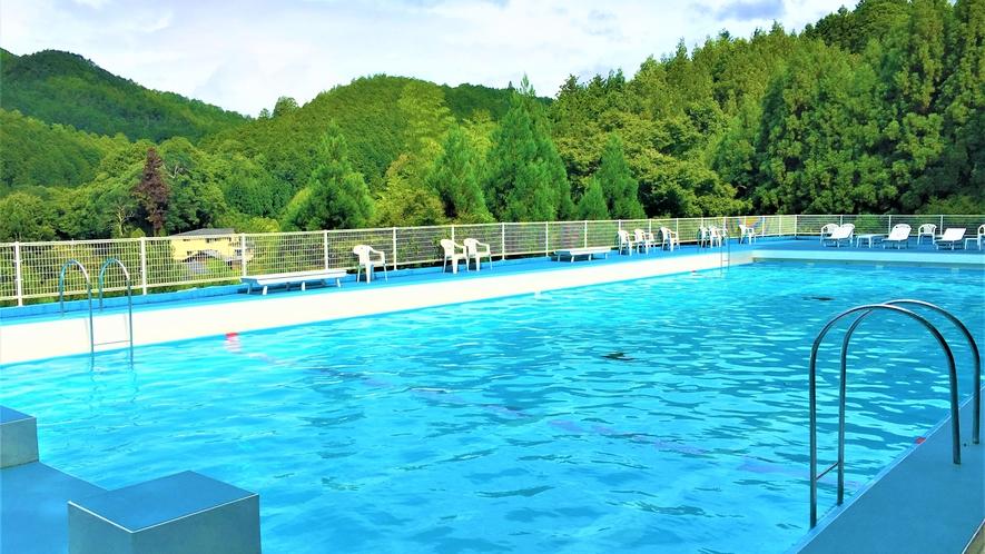 夏季限定プール