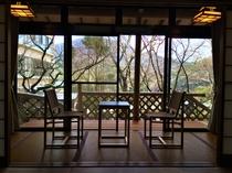 展望庭園テラス付客室 29帖 <薫林棟>