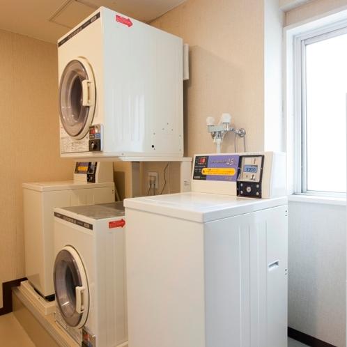 『館内施設』4Fコインランドリー(洗濯機2台、乾燥機2台)