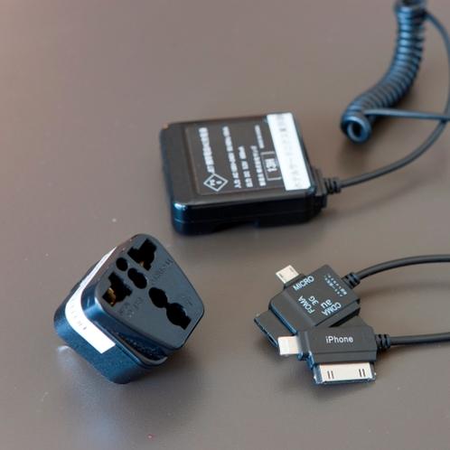 『貸出品』携帯充電器(ガラケー用) / アダプタ