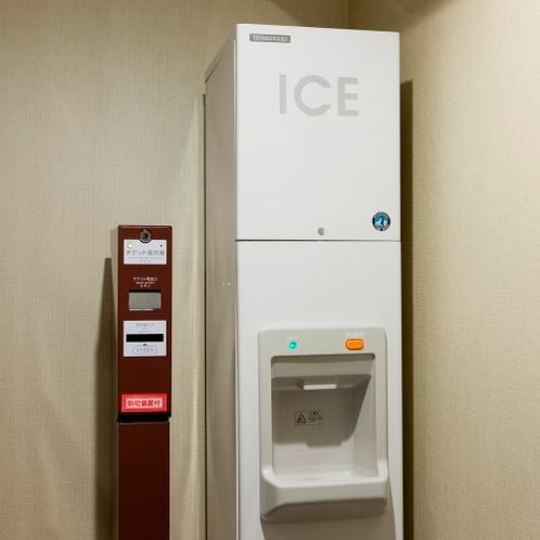 『館内施設』3F、6F、9F製氷機 / 3F~10FVOD券売機