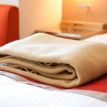 『貸出品』毛布
