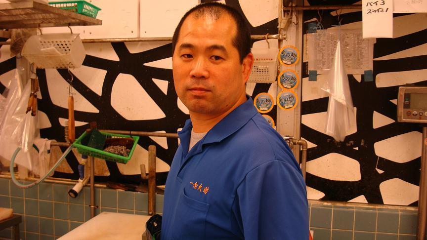 近江町市場魚屋「大助」たびきさん