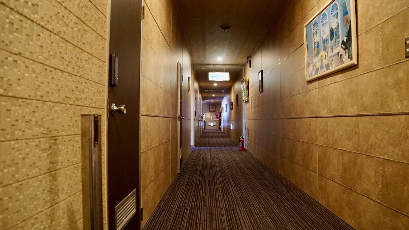 【館内設備】廊下
