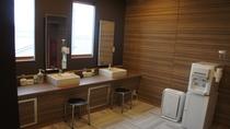 【客室】カプセルルーム共用洗面所