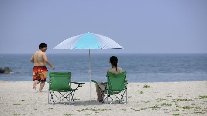 【夏は瀬波の海へ行こう】☆ビーチは目の前!海へGO オーシャンビュー確約♪