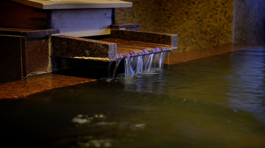 大浴場湯出口
