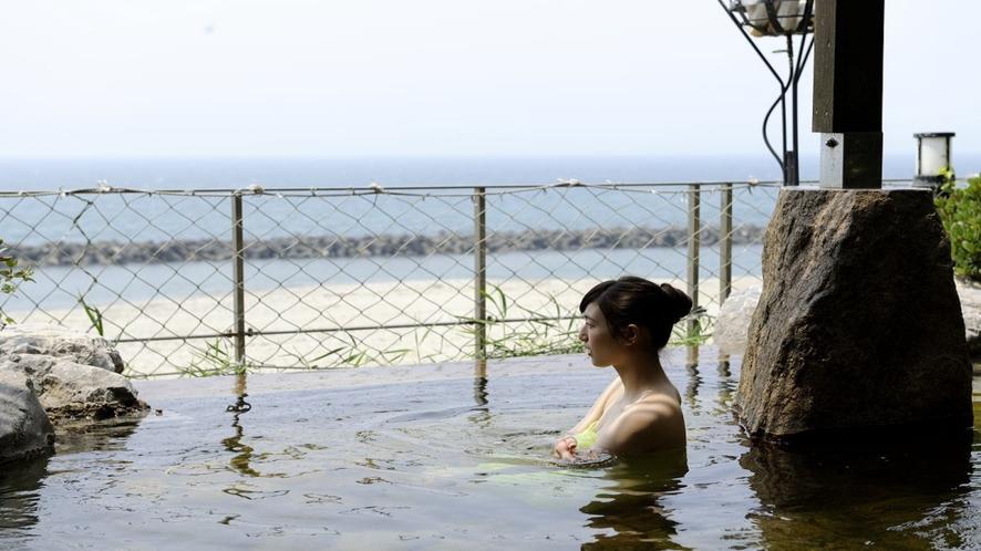 御婦人の優 大浴場露天風呂