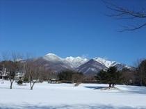 冬の八ヶ岳権現岳