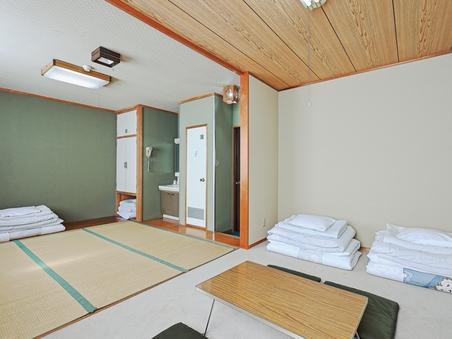 【禁煙】和室1〜6名様(バス付き、トイレ共用)